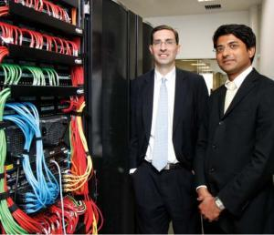 The Technology Solutions Leaders:  Neil F Hagan (left) and Sushil Jadhav