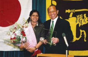 Mr Weerasinghe, a commercial success story in Japan