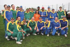 The Tyler Foundation, cricket stars.