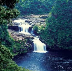 Mariyudu is a 16 meter-high tripledecked waterfall