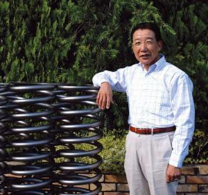 Yoshiki Watanabe and his hand crafted springs
