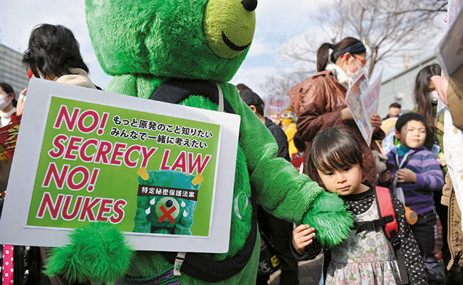 Japan's new State Secrets Protection law