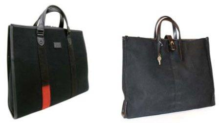Biz Tote bag and Lucchetto bag