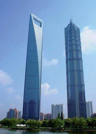 The Shanghai WORLD FINANCIAL CENTER is 492 meters high, with 101 ...