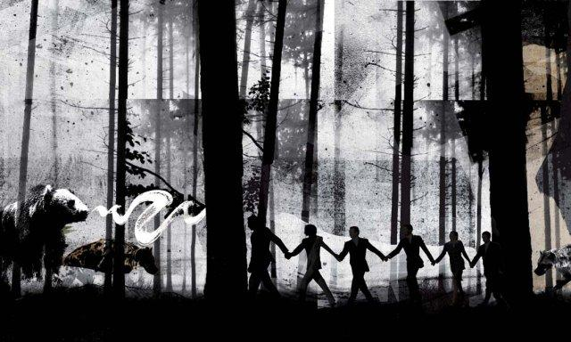 Illustration: We aren't out of the woods yet...
